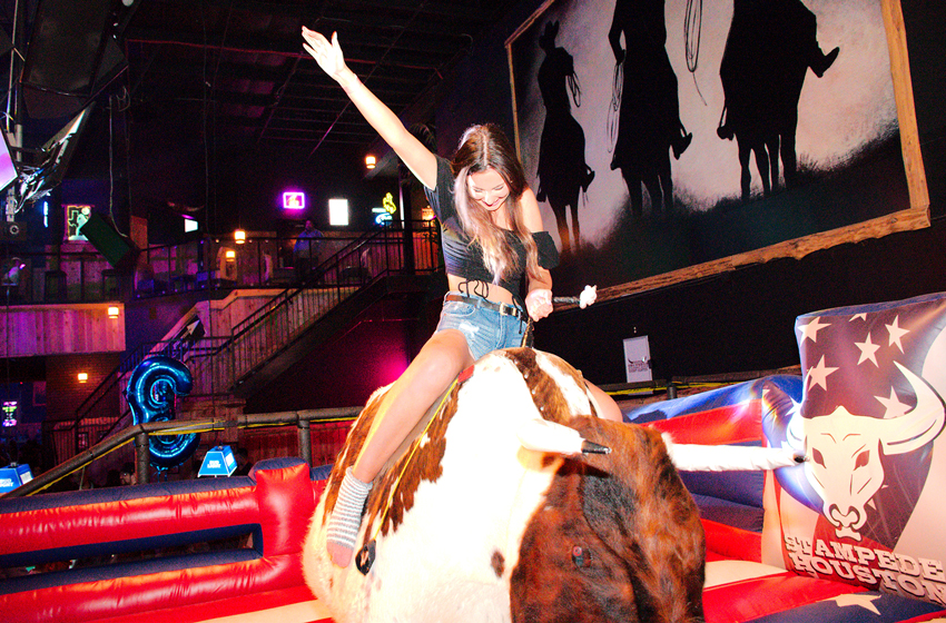 Mechanical Bullrides for Free!